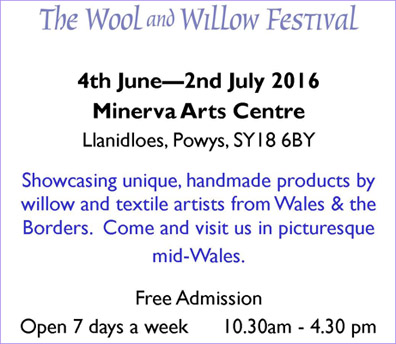 a festival held in the Minerva Arts Centre, Llanidloes,in June 2016