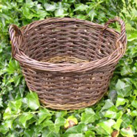 willow basket made by Beryl Smith