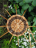 willow basket  made by Lois Grindey