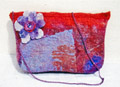 a felt bag by Pat Johnson