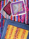 work created with locker hooking technique by Sue Clow