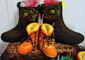 Essence of Tranquility felted boots