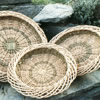 oval woven willow baskets