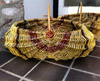 willow frame basket by Mel Bastier